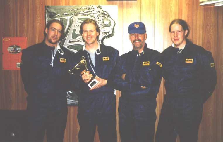 David Benson, Mark Benson, Bob Fayers, Andrew Benson
